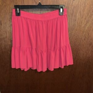Hot pink skirt originally from Aeropostale